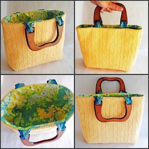 Read more.  Как сделать сумку своими руками .  Такой сумки нет ни у кого.