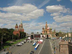 Красная площадь, подготовка ко дню города