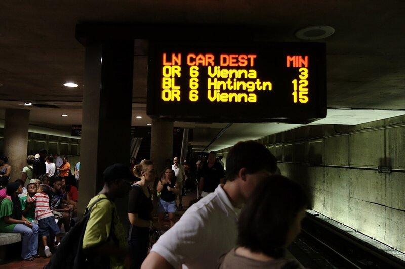 Время ожидания поездов