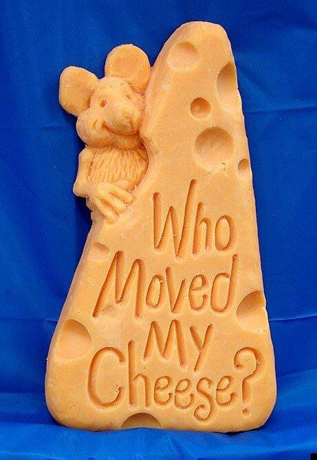 Sarah Kaufman, скульптуры из сыра