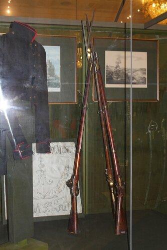 Ружья пехотные со штыком образца 1808 г.