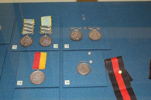Наградные медали союзников (Англия, Сардиния, Турция)