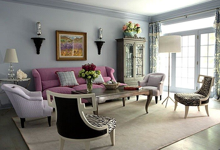 Прочитать целикомВ.  Интерьер: изысканность розового цвета.
