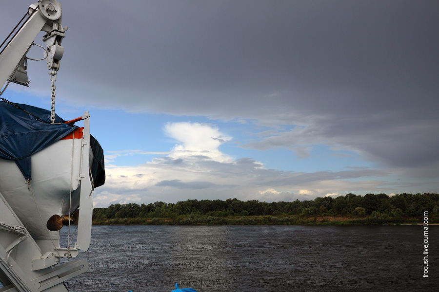 Волга ниже Городца
