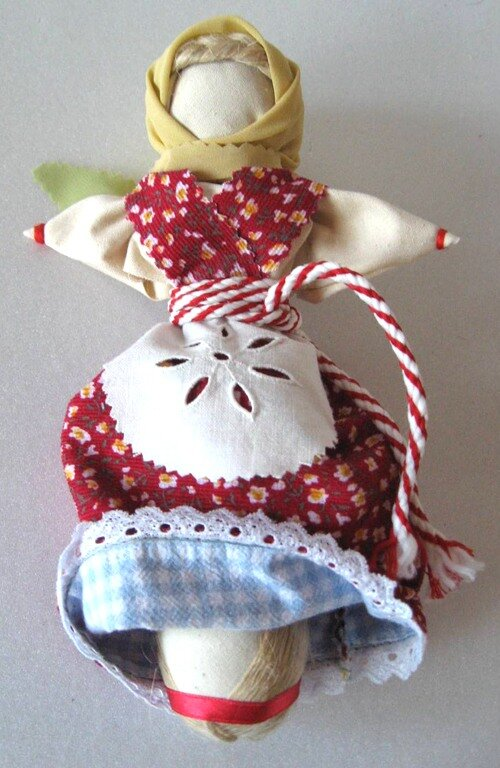 Текстильная кукла пошаговая