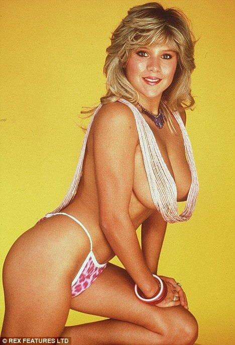 Саманта Фокс, бывшая топлесс модель