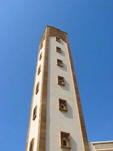 Минарет мечети Мохаммеда V, Агадир, Марокко © Алексей Донской