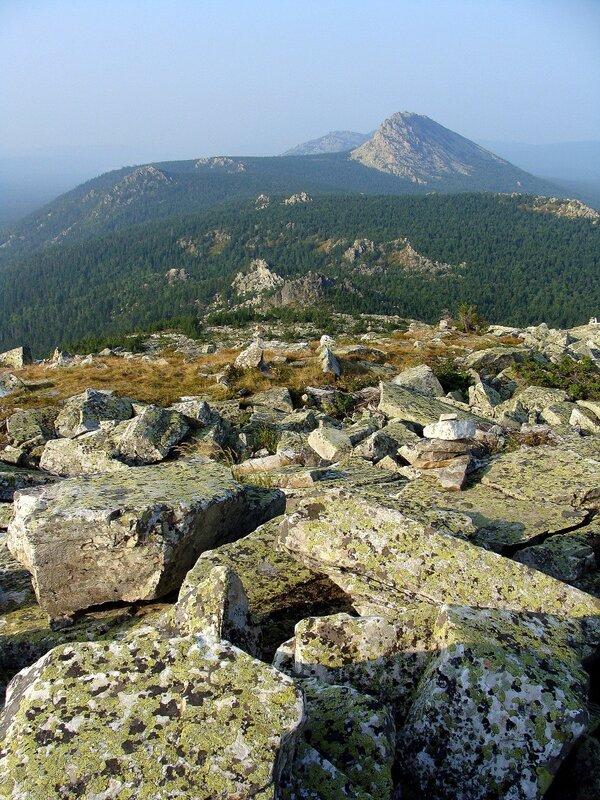 Вид с горы Круглица.