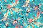сине-розовый фрактал