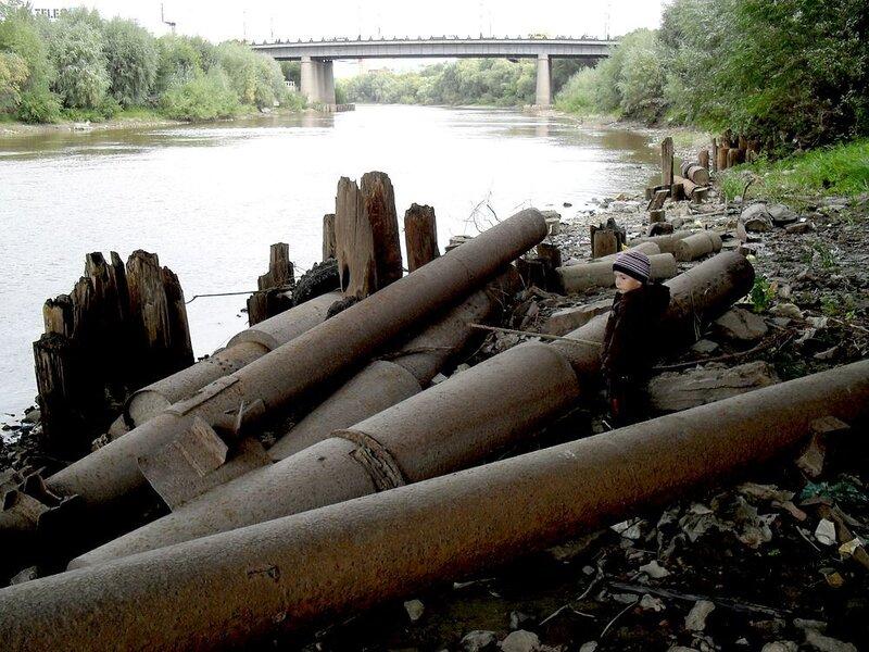Опоры Железного моста