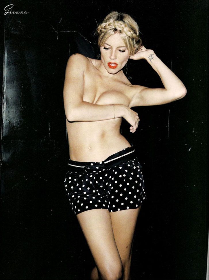 Сьена Миллер (Sienna Miller), фотограф Angelo Pennetta