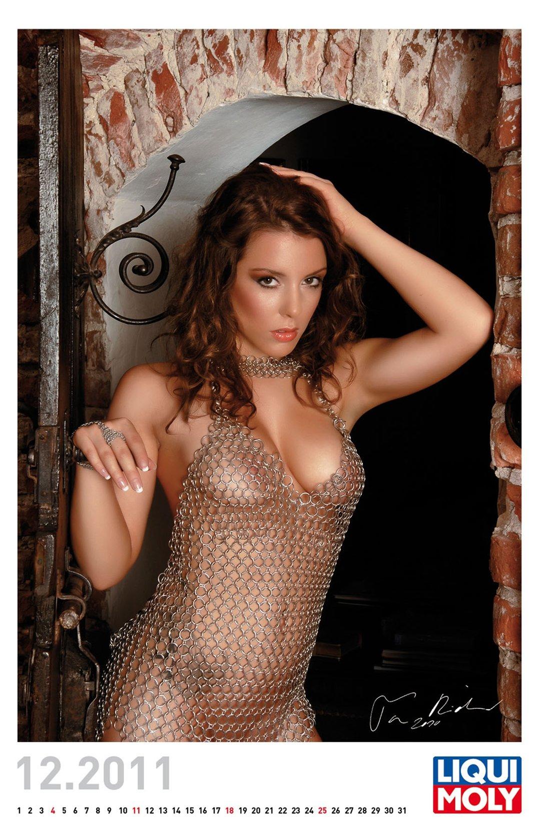 эротический календарь Liqui Moly calendar 2011 - декабрь