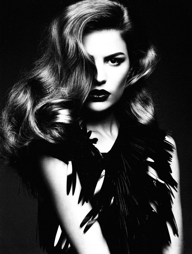 Кэмерон Рассел / Cameron Russell by Ben Hassett in Numero