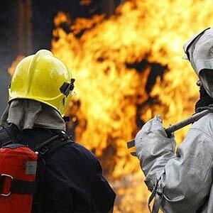Во Владивостоке на ул. Успенского загорелось административном здание