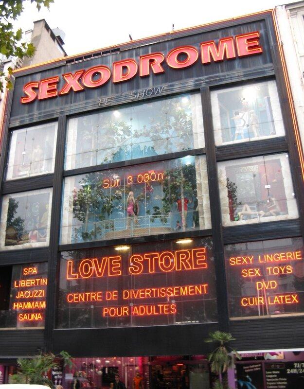 Клуб Sexodrome, Париж