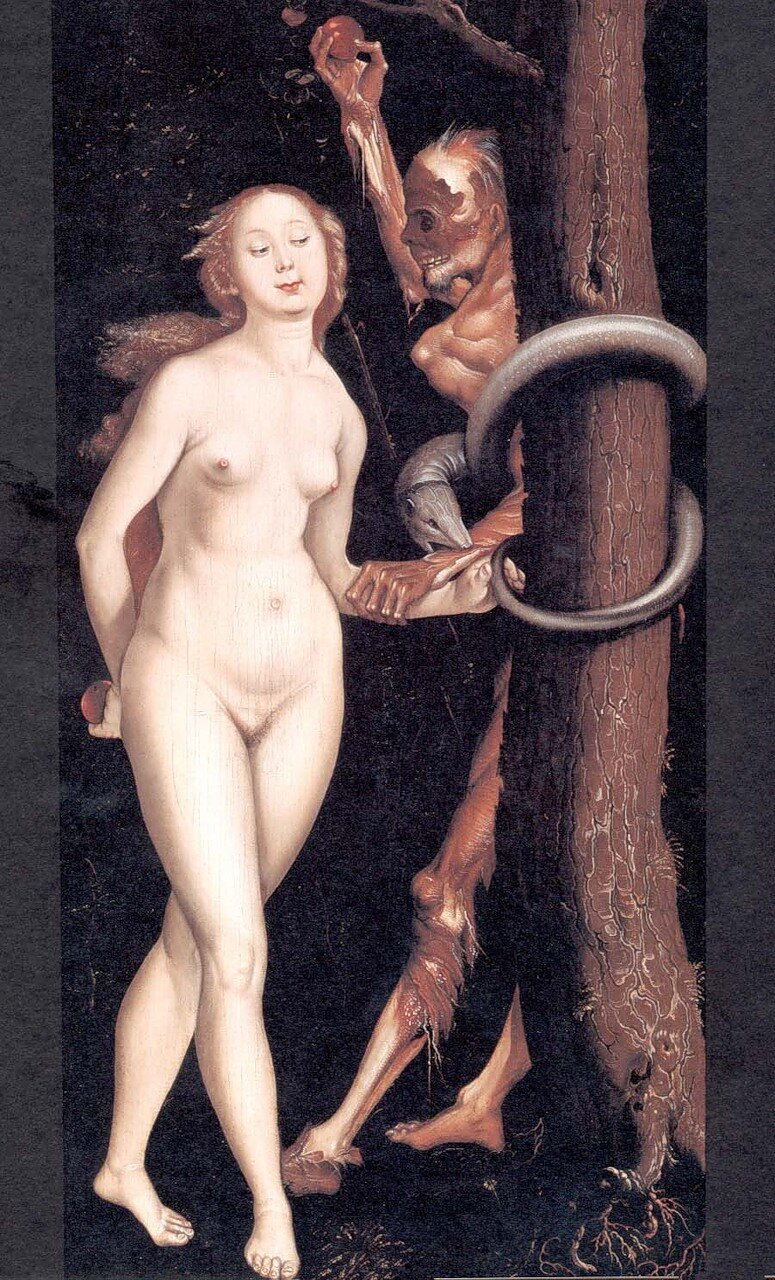 Hans_Baldung_Grien_Eve_the_Serpent_and_Death_1510_Dornai