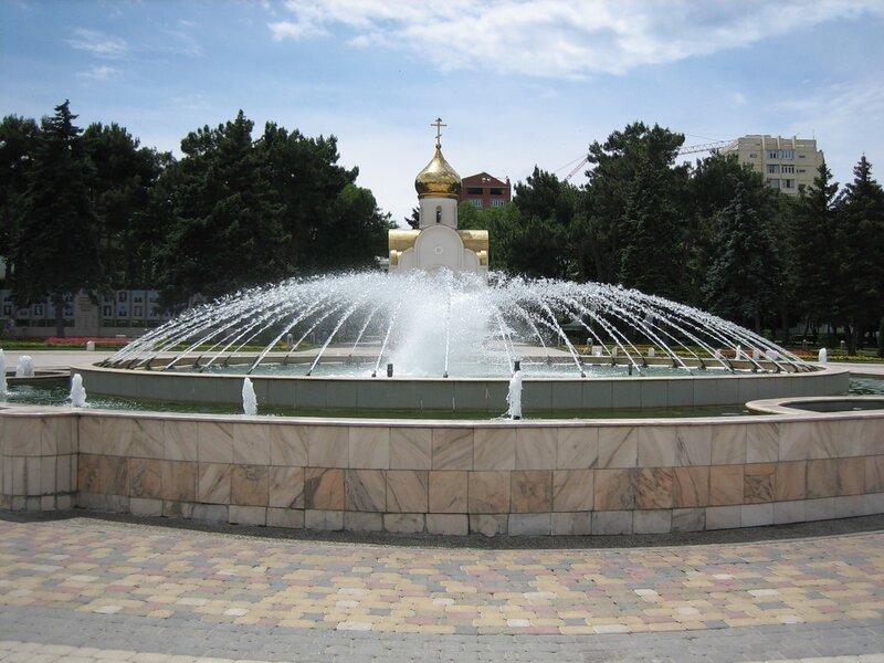 Перед зданием администрации