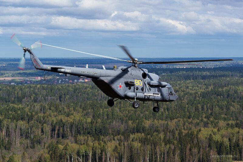 Миль Ми-8МТВ-5 (RF-91183 / 80 желтый) ВКС России D802839