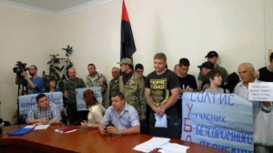 Антиватна действие Николаевского отделения