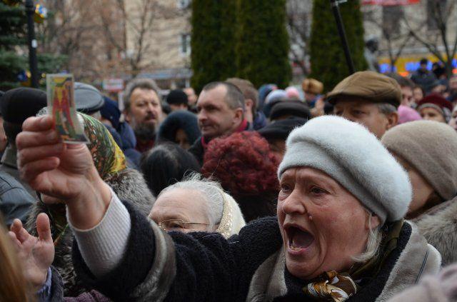 «Русский мир» поднял голову в центре Украины