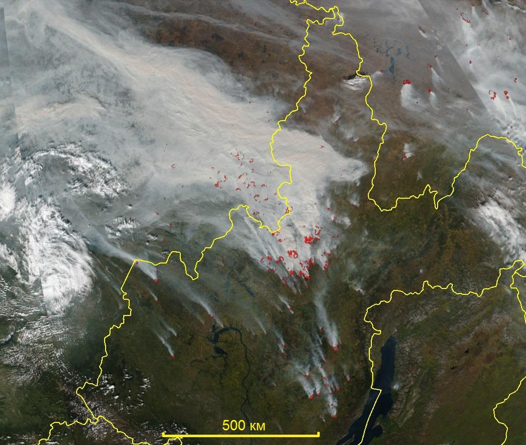 «Гринпис»: ВВосточной Сибири пламенем охвачены массивы леса величиной стреть Подмосковья