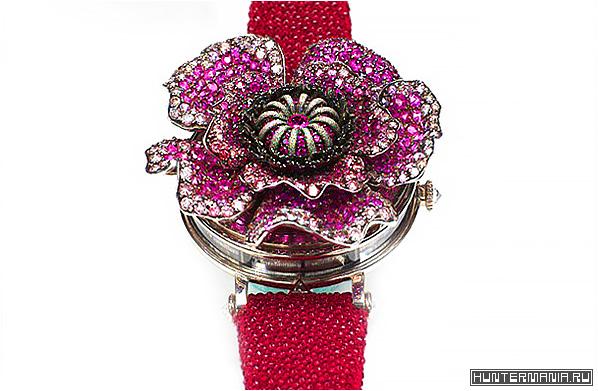 Часы Мак Poppy Flower Andreas von Zadora