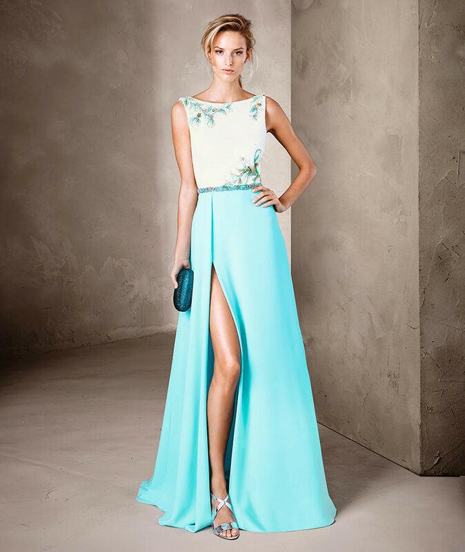 Платья модные вечерние 60