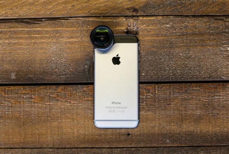7. Набор объективов для iPhone Набор объективов для iPhone — отличная альтернатива профессиональной