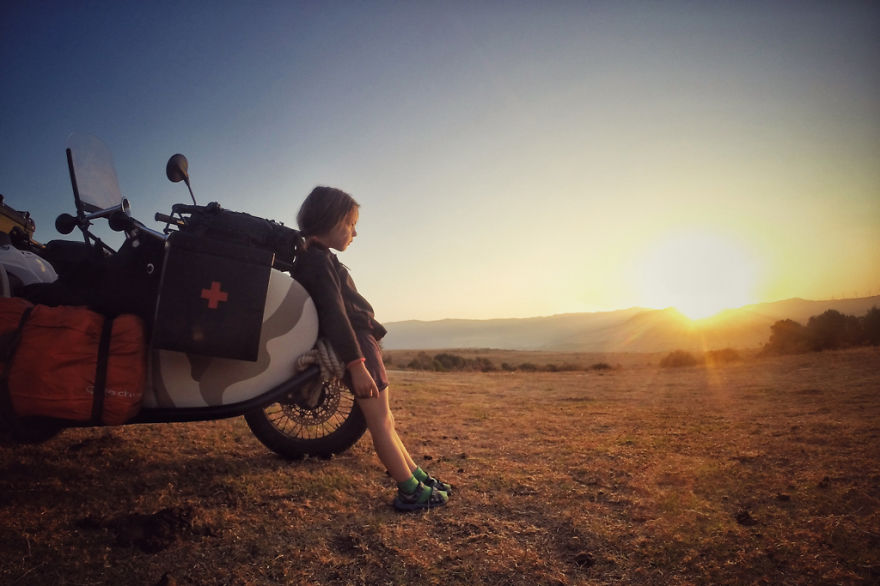 21. Восход солнца в Испании