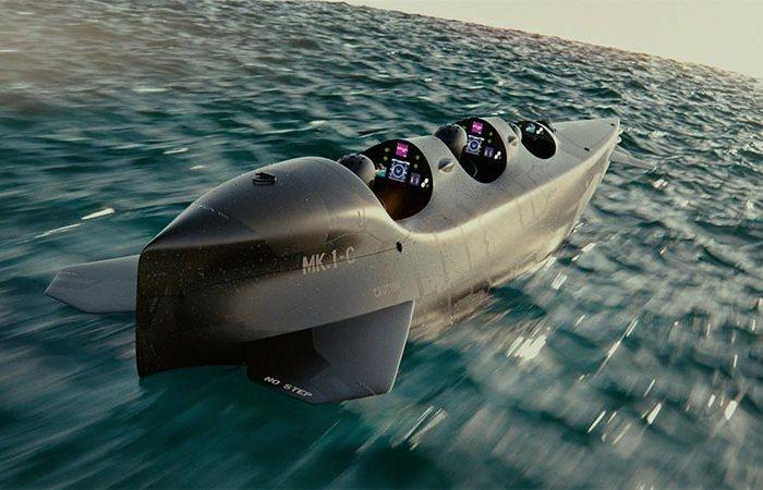Подводная романтика: частная субмарина для самых экстремальных водных прогулок (6 фото)