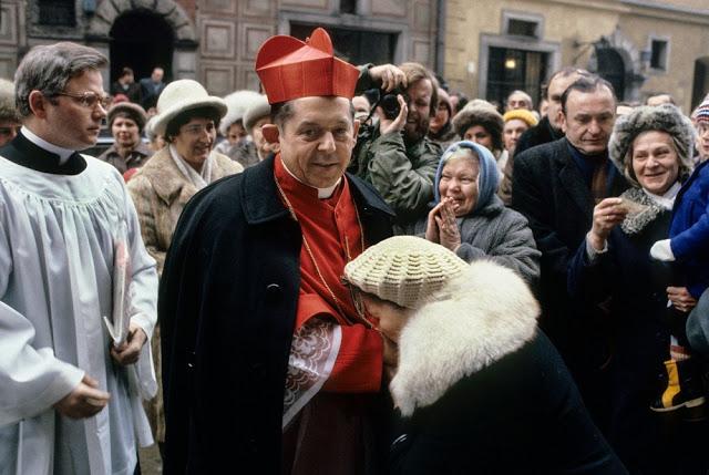 Кардинал Глемп, 1981 год.