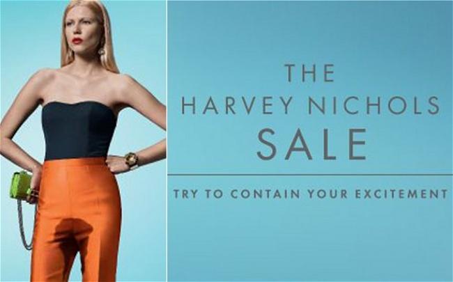 Маркетологи изHarvey Nichols разослали своим покупателям почтовые открытки, вкоторых сообщается о