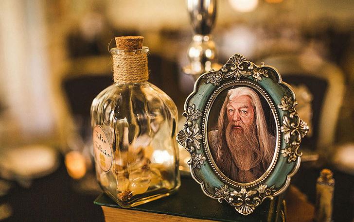 Для пары это не первое тематическое мероприятие, посвященное Гарри Поттеру.