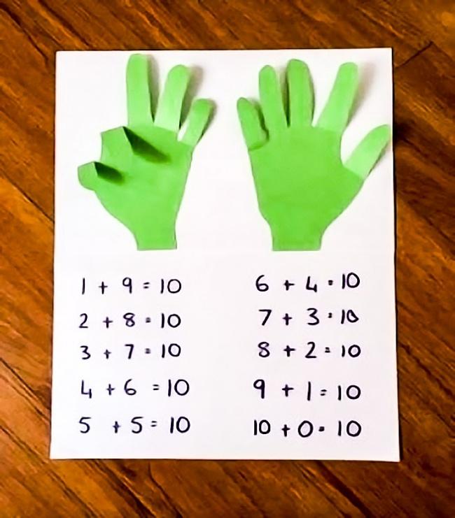 © www.manualidadesytips.com  Как играть Еще одна замечательная обучающая игра. Вырезаем из цве