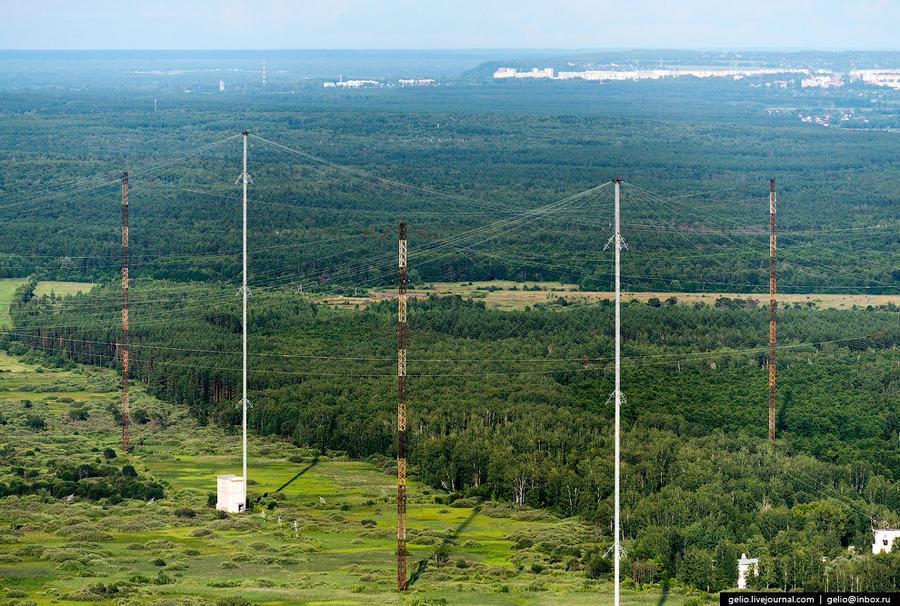 68. Центр дальней связи на сверхнизких частотах «Голиаф», обеспечивающий радиосвязь с подводными лод