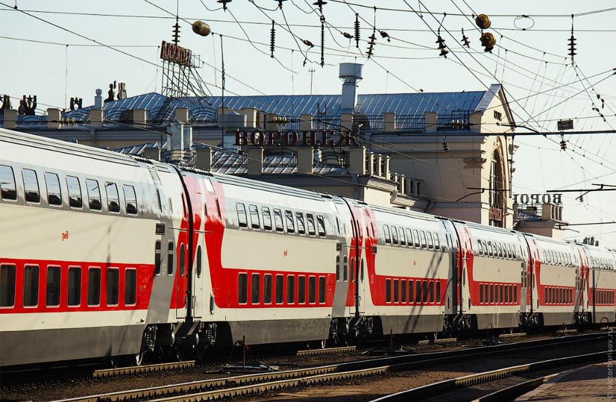 Лучше, чем «Сапсан». Двухэтажный поезд «Москва-Воронеж» (29 фото)