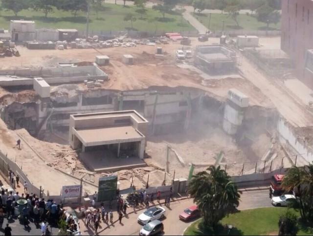 ВИзраиле обрушилось сооружение, есть раненые