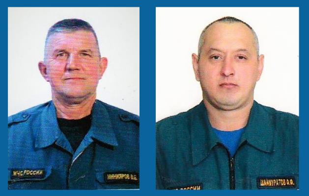 ВБашкирии при тушении пожара погибли двое пожарных