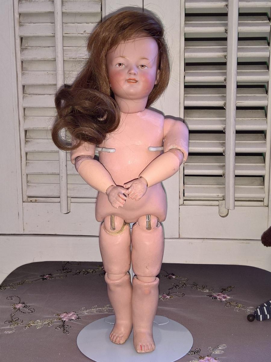 Антикварная немецкая коллекционная кукла Kestner 185