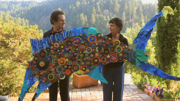 One Plastic Beach: A California Couple Turns Tons of Plastic Debris into Art (3 pics)