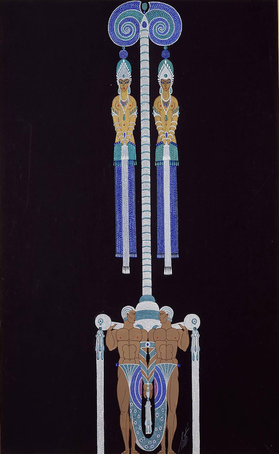 Porteurs de bijoux pour les Folies Bergeres, 1927.