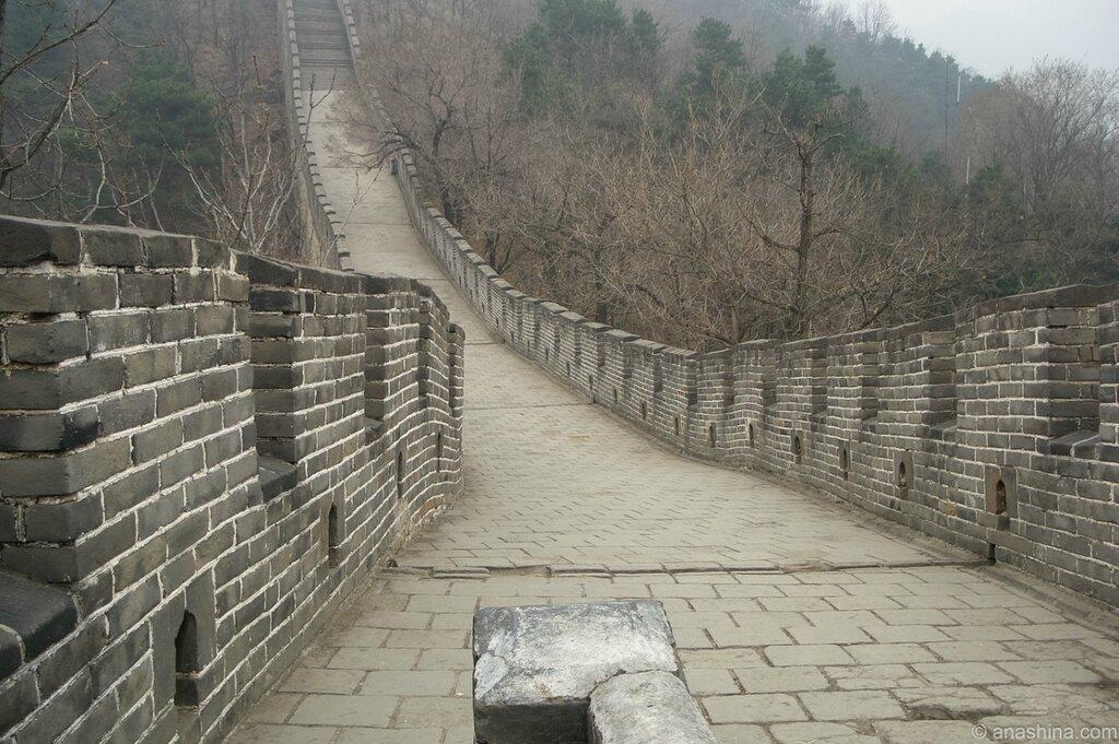На Стене, Мутяньюй, Великая китайская стена