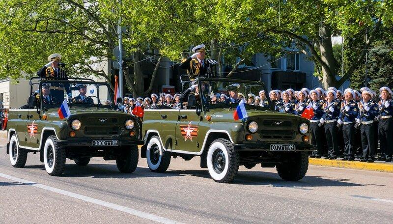 Командующий Черноморским флотом адмирал Витко