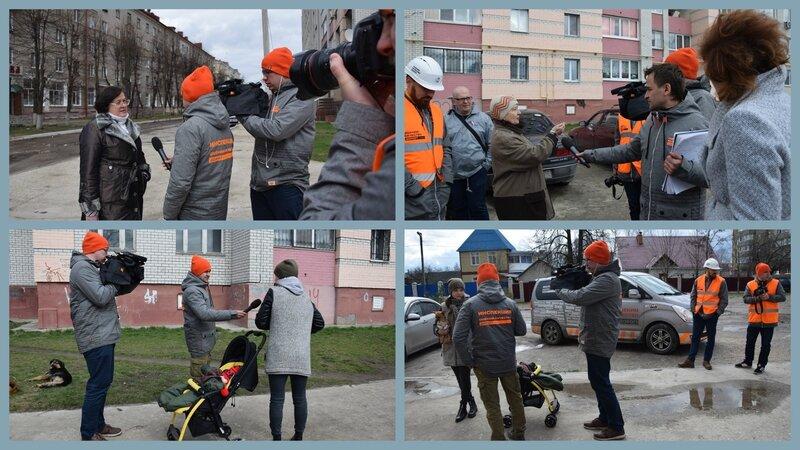 """Проект """"Убитые дороги"""" в Брянске!"""