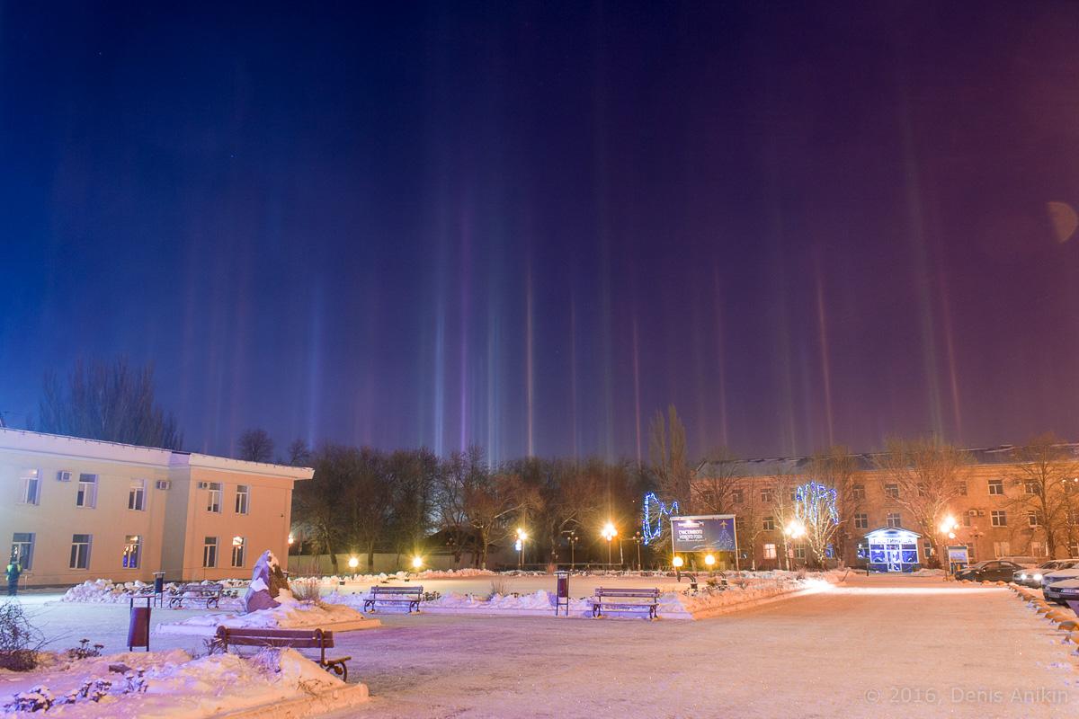 Световые столбы Саратов фото 4