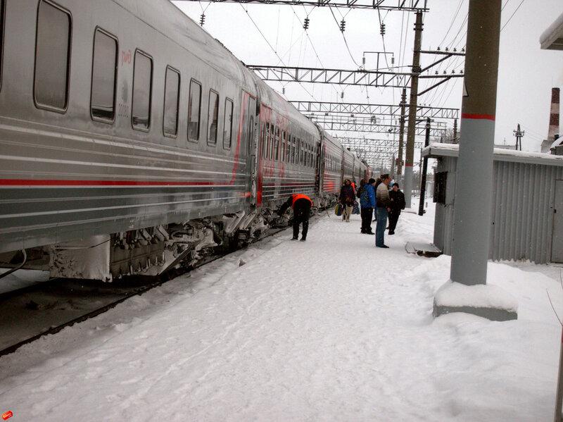 железная дорога, Кемь, поезд 22