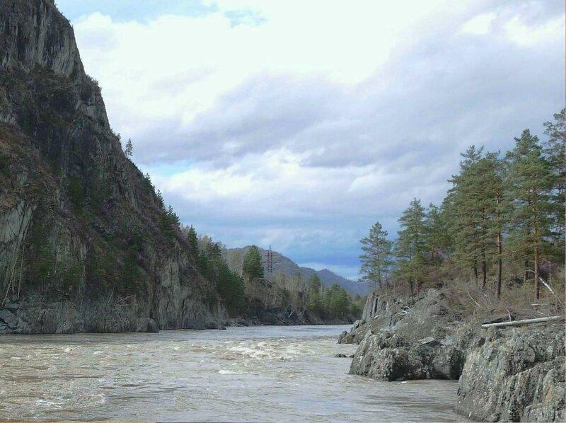 Горных просторов Алтая, бег освежающих рек... .jpg