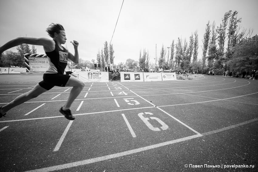 спорт бег финиш