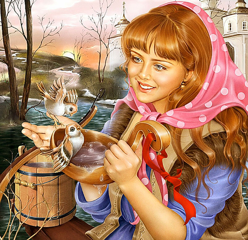 новым яркие рисунки инны кузубовой восходит праславянскому