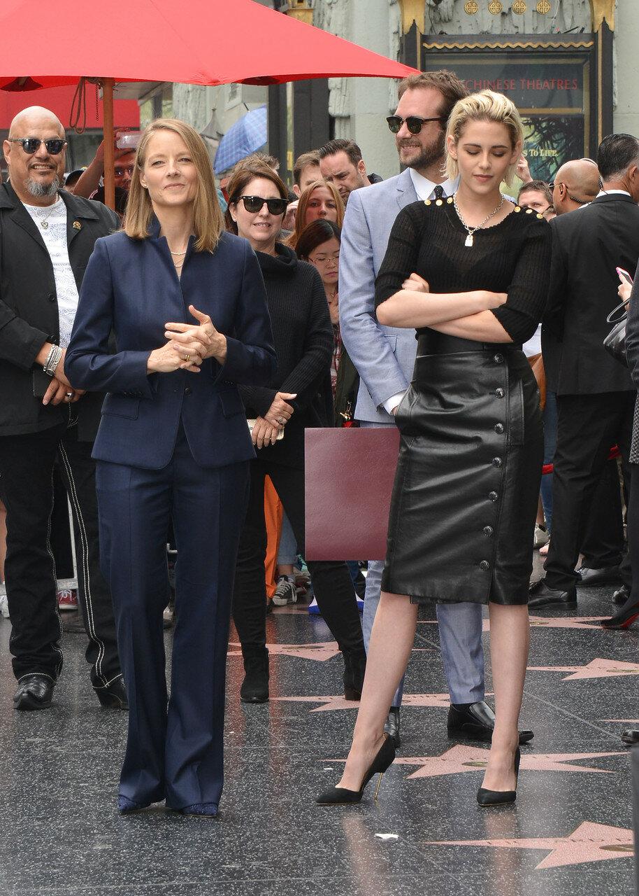 Jodie Foster and Kristen Stewart